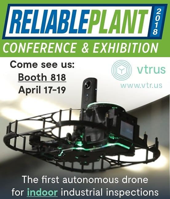 Come see ABI and learn more at the Reliable Plant Conference & Exhibition in Indianapolis April 17-19. We're at Booth 818!  Learn more about Vtrus and ABI at www.vtr.us