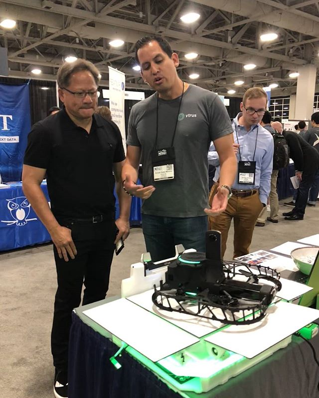 It's been great showing the value of ABI to CVPR participants like Nvidia CEO Jensen Huang!  Learn more at www.vtr.us