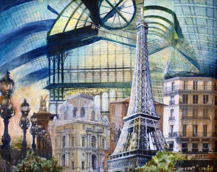 MEMORIES OF PARIS I (SOLD)