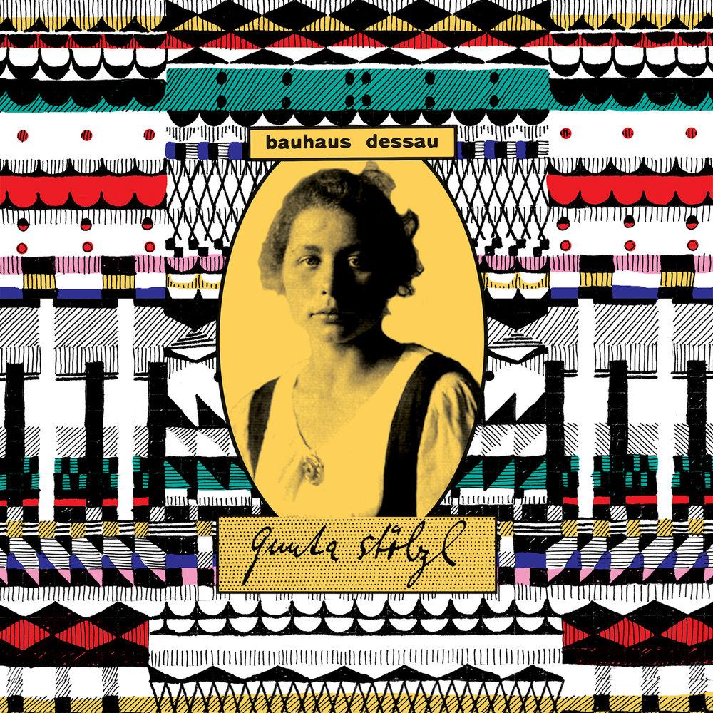 Bauhaus Women - Gunta Stölzl // India ink, digital collage