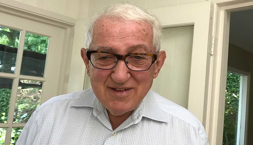 Robert Rothman, 74, Left eye blind; right eye lesion in center vision
