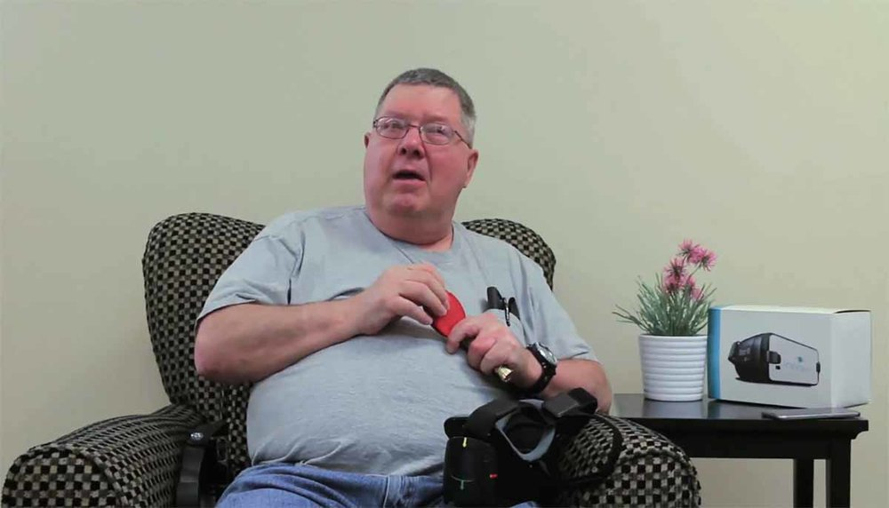 John Leake, 69, Macular Degeneration