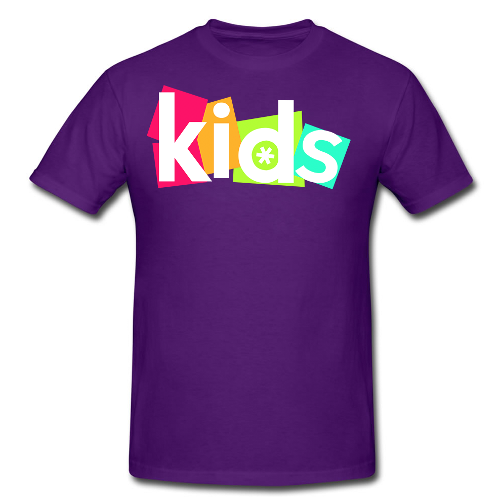 Evident Church Kids rebrand - logo, graphics & gear.