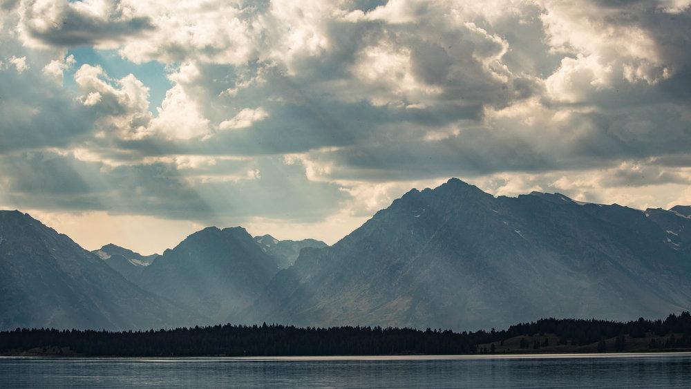 Grand Teton Mountains - August 24, 2017