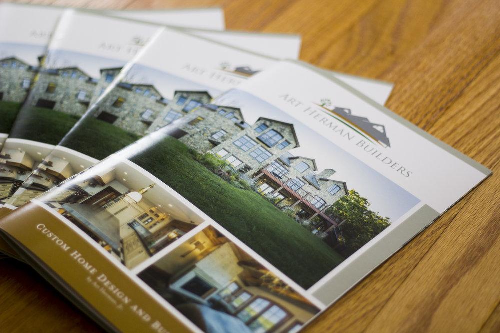 Art Herman Builders Booklet Design