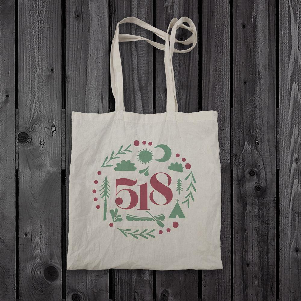 518 Tote Bag