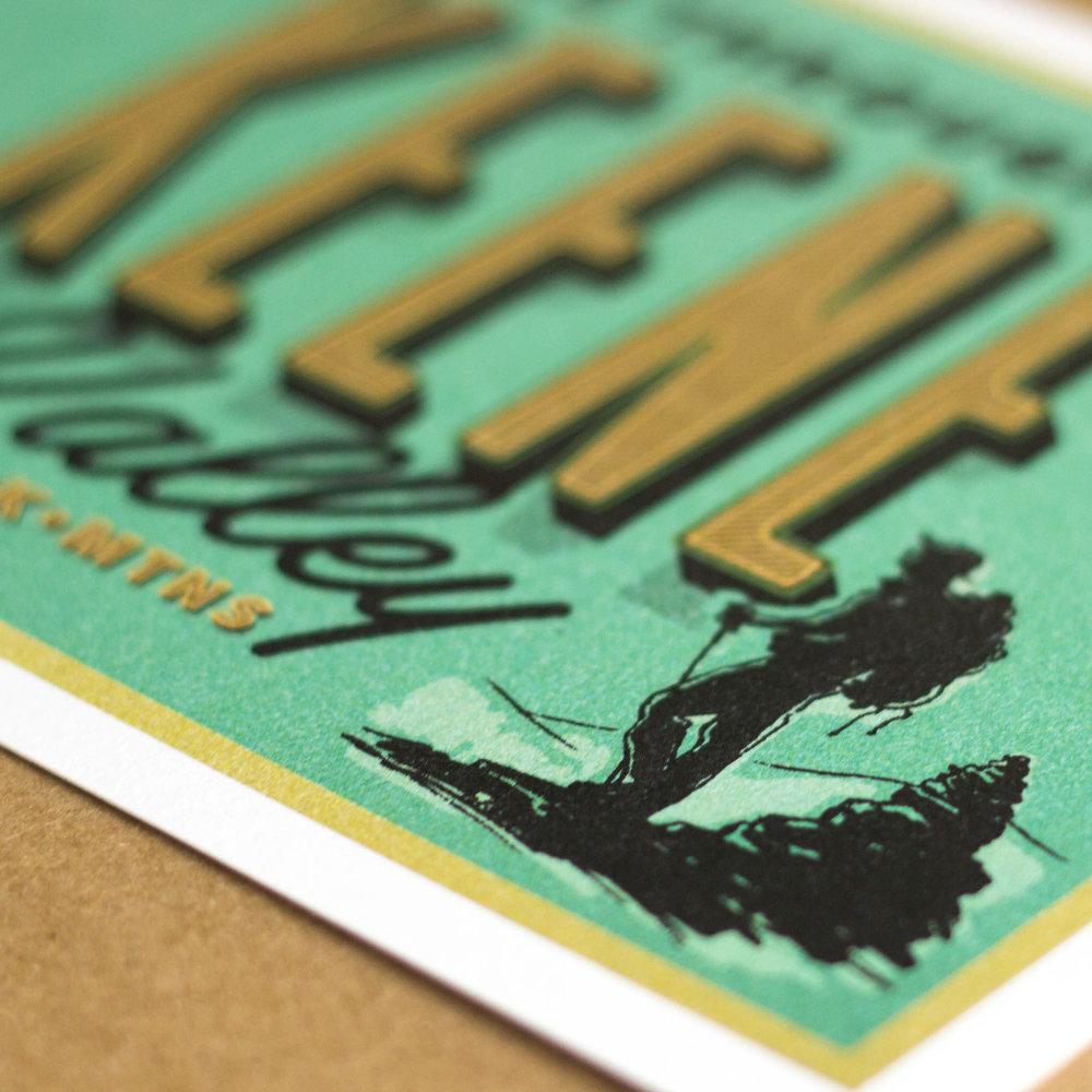 Keene Valley Postcard Design