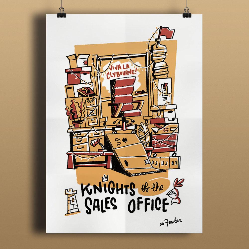 20170711 TooningIn Knights Poster Mockup V1 1