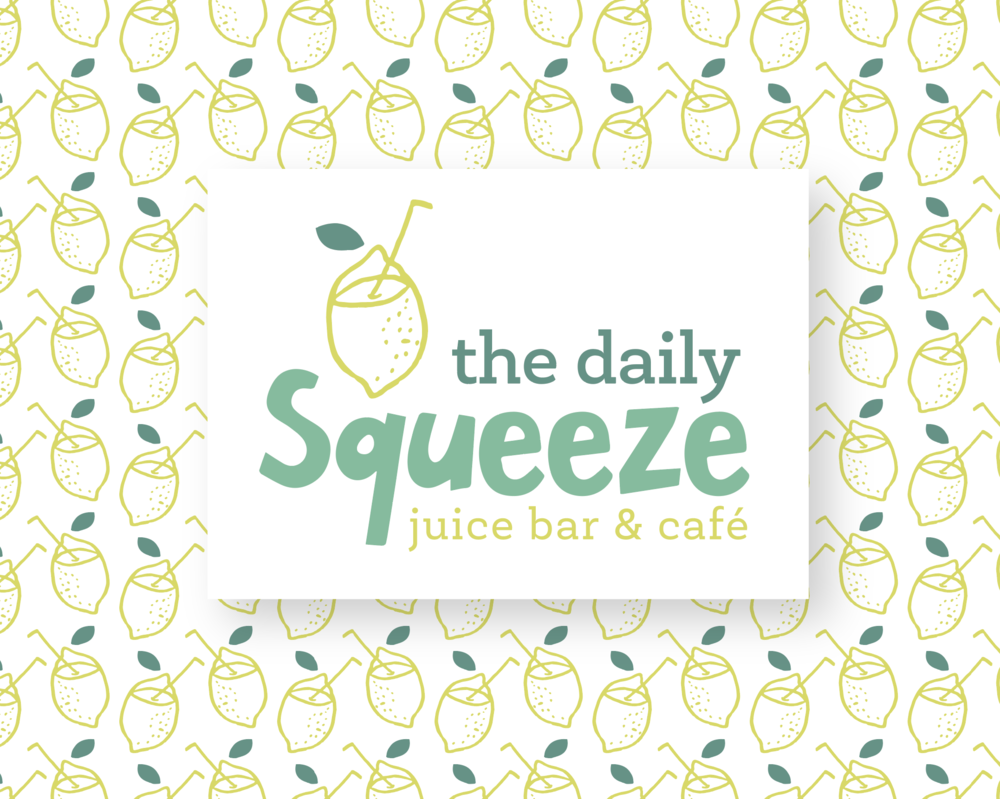 The Daily Squeeze Logo and Brand System