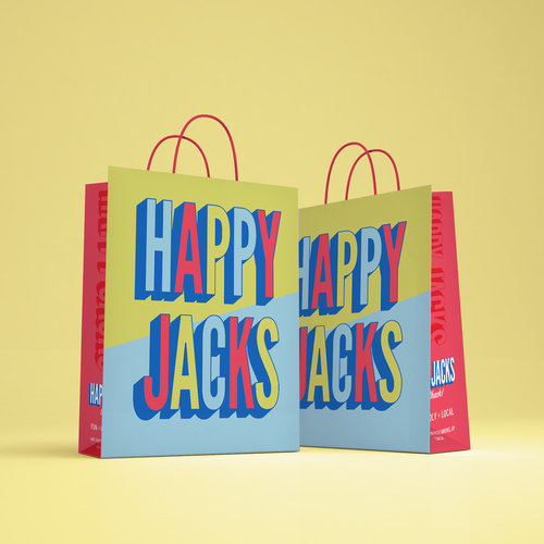 Happy Jacks Rebrand & Packaging
