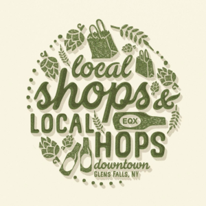 Logo Shops & Local Hops Event Logo Design