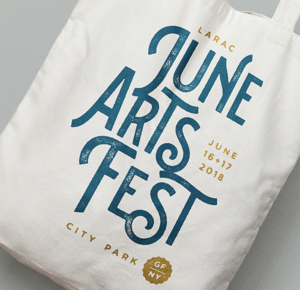 LARAC June Arts Festival Logo