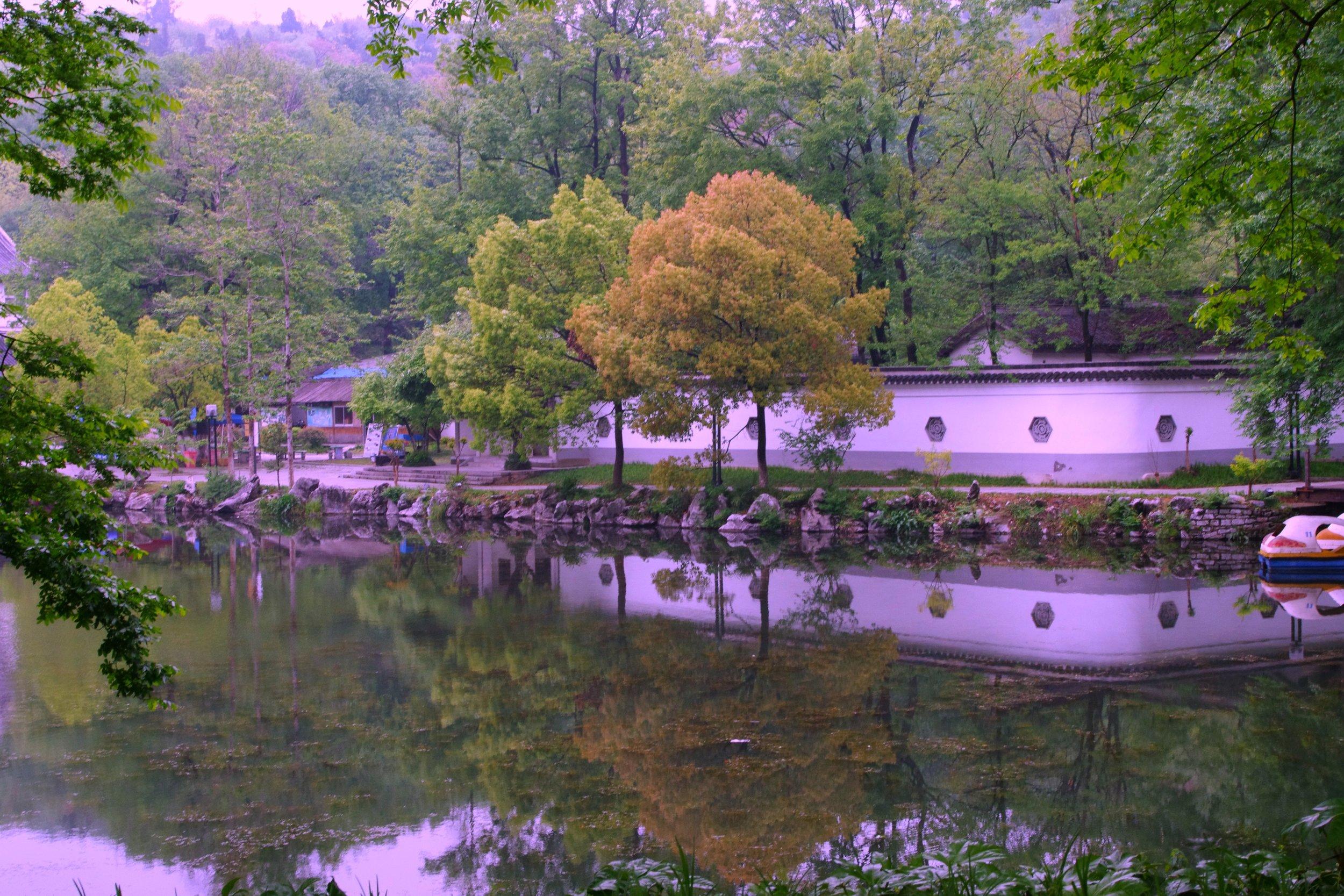 serene nature Yixing