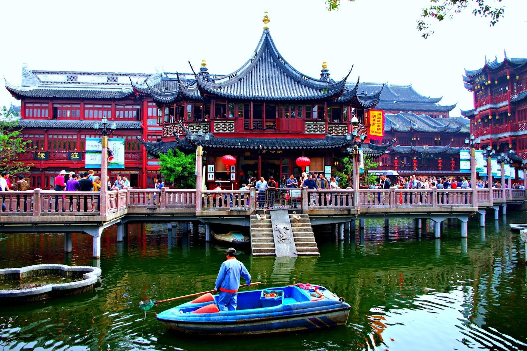 touristic teahouse