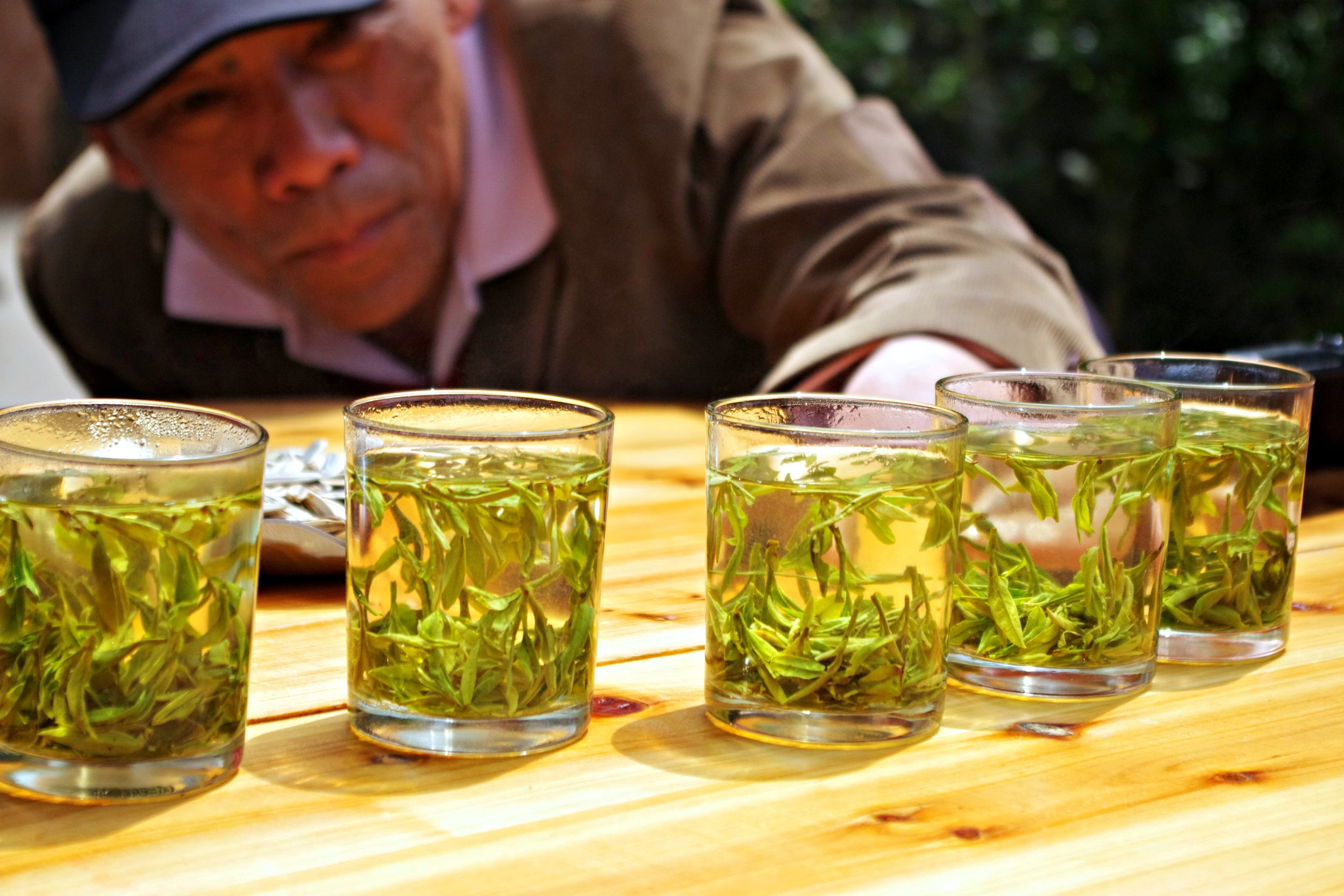 5 grades of Long Jing tea
