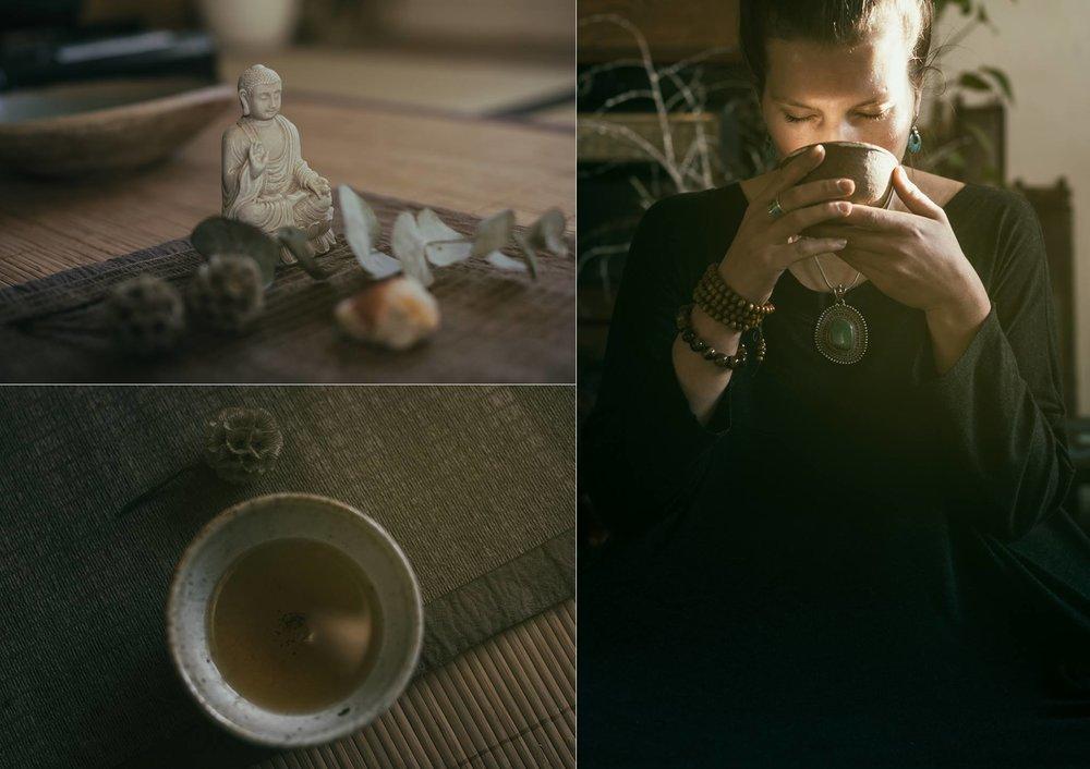 New Moon Tea Ceremony and Sharing Circle