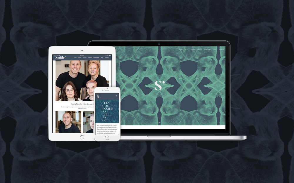 Responsive Web Design for Smiths' Hairdressers Bromley