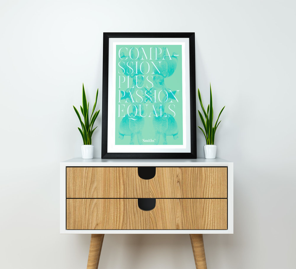Poster and print design for smiths bromley