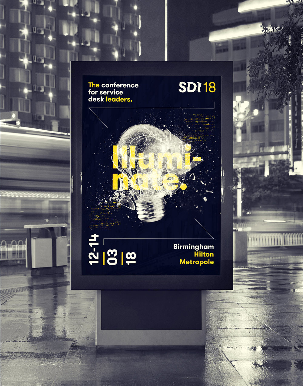 Poster Design for SDI18 Conference - Part of Rebrand