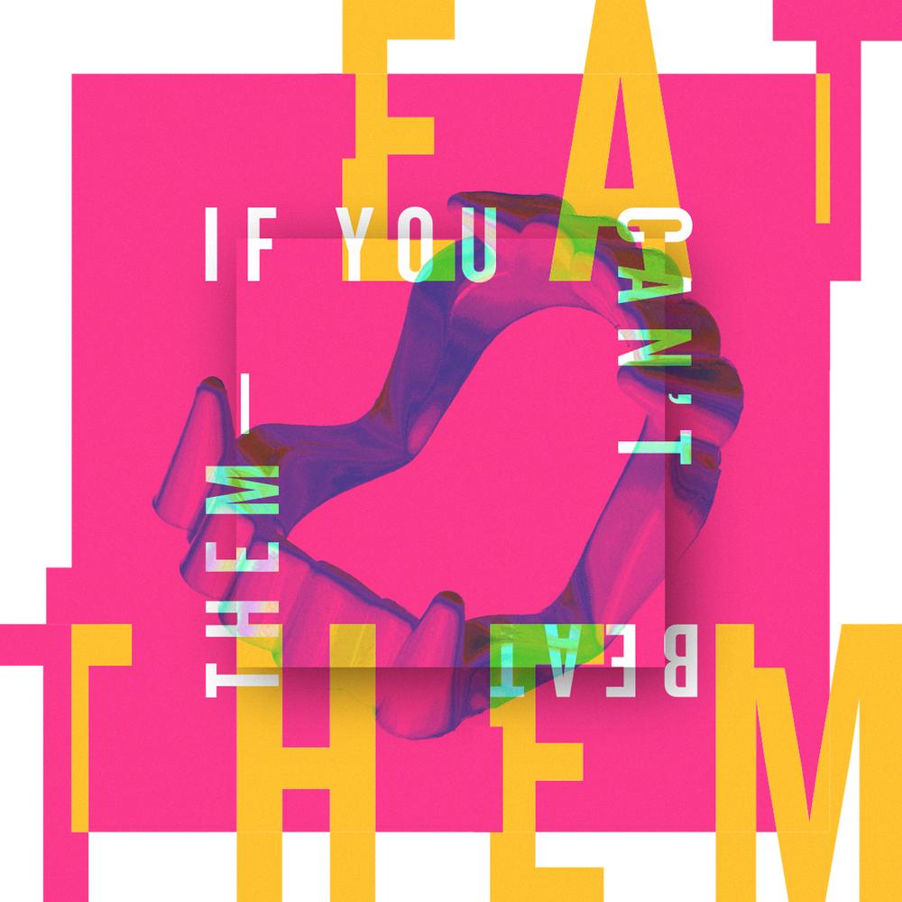 Social media design - experimental typography