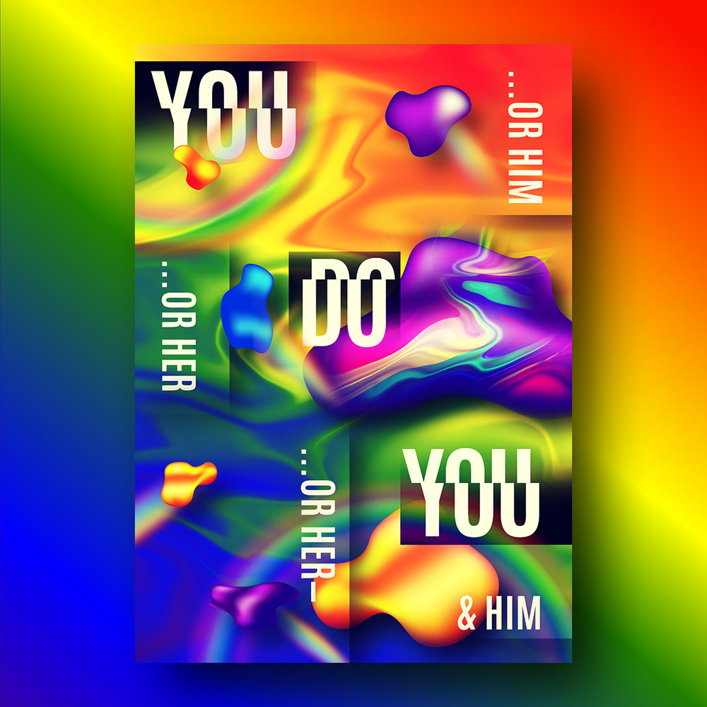 Ollie Johns 2018 - London Pride - You Do You