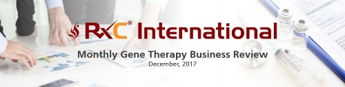 Monthly Gene Therapy Business Review - December 2017