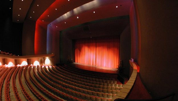 The Neil Blaisdell Concert Hall Stage