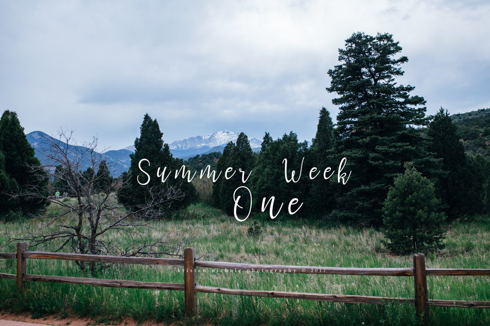 Summer is HERE yall! It's already a hot one here in Texas. We spent our first week of summer in Colorado and it just wasn't long enough. We staying in Colorado Springs of the first few days and we enjoyed all it had to offer. Garden of the Gods and the Royal Gorge Bridge & Park was amazing!
