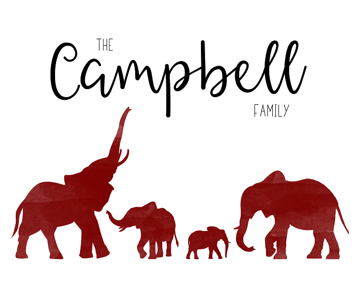 Personalized Elephant Family Print Hammontree Design Download transparent elephant png for free on pngkey.com. hammontree design