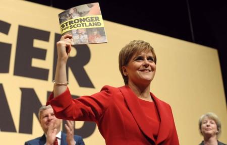 Scottish First Minister, Nicola Sturgeon. (Courtesy of  Scottish Housing News , 2017).