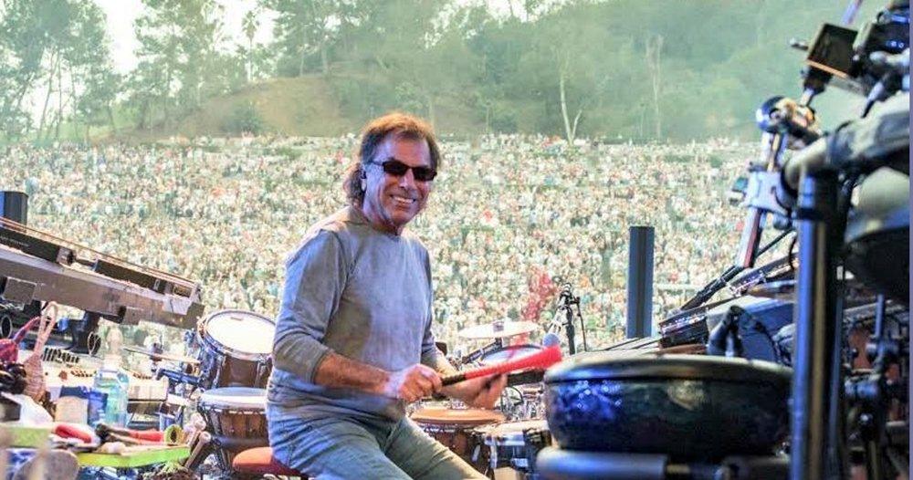 Mickey Hart Appears on ATB Podcast - JamBase.com - June 22, 2018