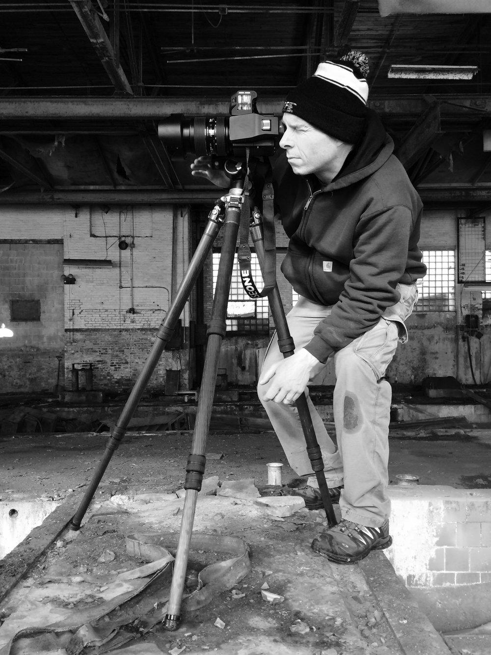 Photographer Joe Wallace