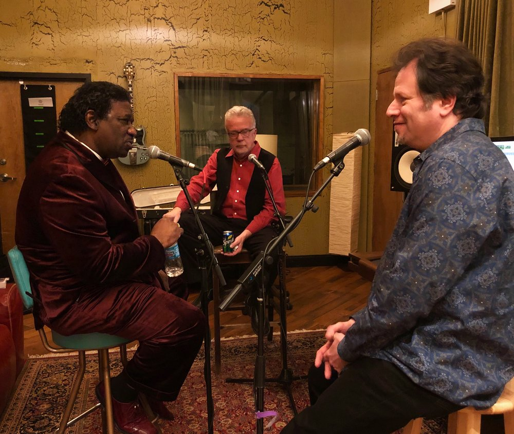 mud morganfield & rick kreher - A session with Mud Morganfield & Rick Kreher