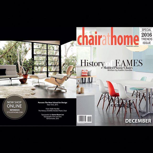 Magazine Design: Eames 2012