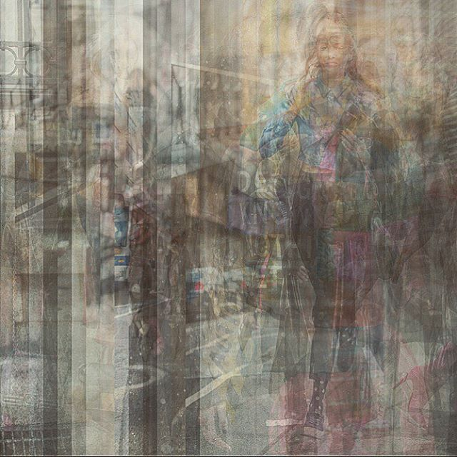Digital collage: fashion week