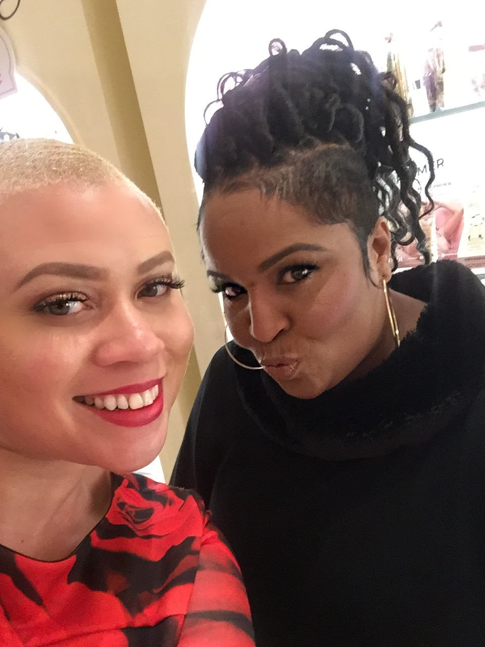 Nicole L. Townsend and National 'Brow Artist, Nikki Hall