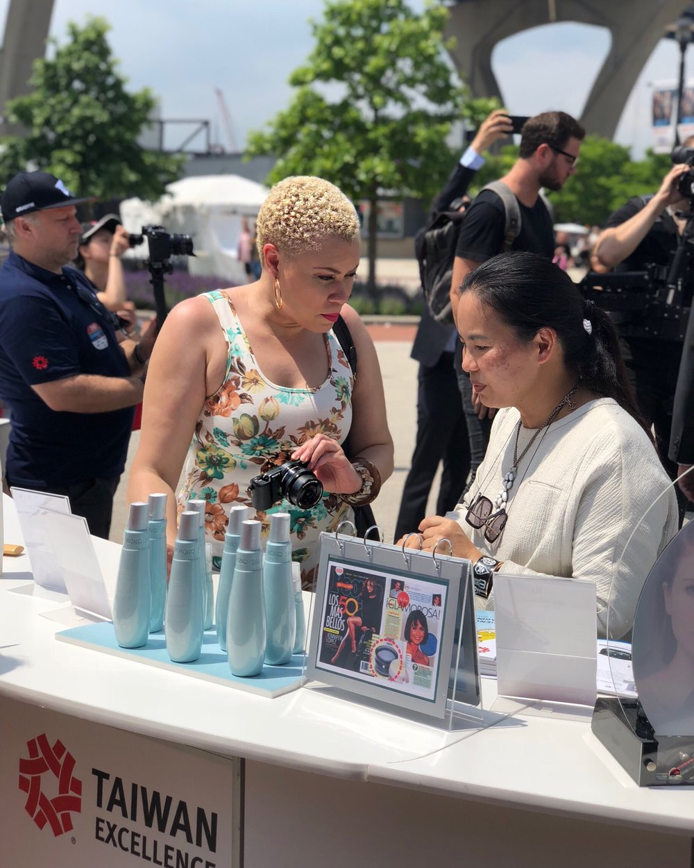 Beauty Recap: The Taiwan Excellence Booth at Summerfest 2018 was Everything