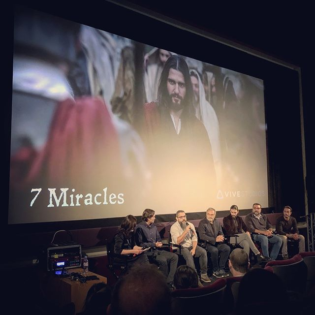 presentation of 7 Miracles, the world's first feature-length virtual reality film, at the VR Summit in London. i personally have my doubts about virtual reality in terms of scalability and distribution infrastructure. rather, i believe in the choose-your-own-adventure type of projects, such as the interactive Black Mirror episode Netflix just announced for later this year. it will be interesting to see which kind of interactivity will transform the film and television industry over the next years. #virtualreality #chooseyourownadventure #raindance #london