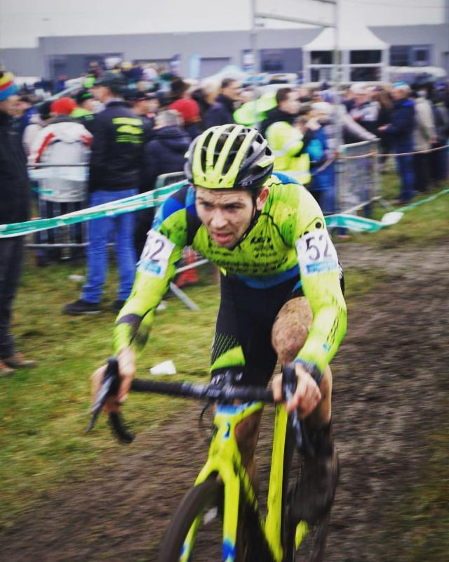 Cycle-Smart athlete and coach Michael van den Ham finishes out his season with a strong result at Superprestige Hoogstraten. Photo: Tatjana Jonckheere.