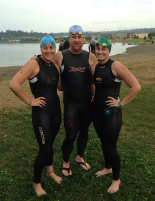 The Larson Family - Training and Racing Together