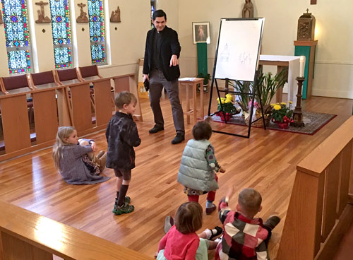 Children's ministry at St. John's Anglican Church