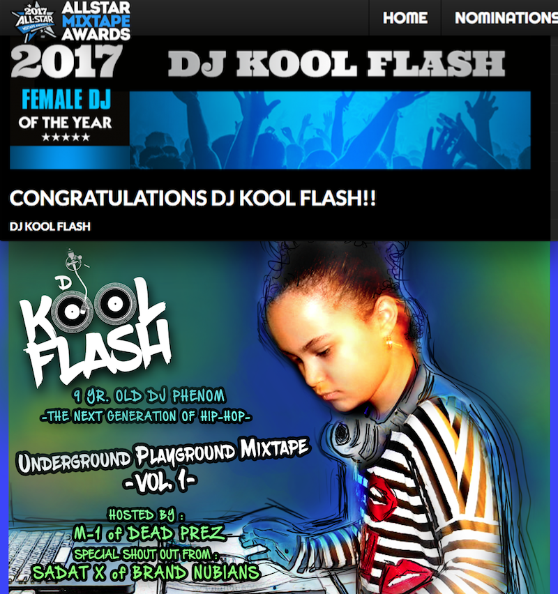DJ KOOL FLASH - ALLSTAR MIXTAPE AWARDS 2017 Female DJ of The Year .png