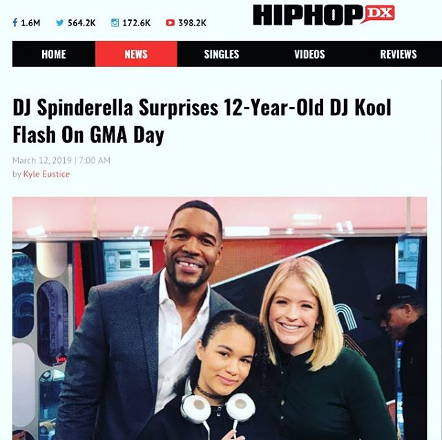 🙏🏽 @hiphopdx 🙏🏽❤️ @kyleeustice ❤️ Full article: click link in bio #womenshistorymonth #realhiphop #blackgirlmagic #blackexcellence #dmc2018nycchamp🏆 #girls #dj #scratchvision #ranedj #nyc #love #soulinthehorn @sunnytheagent #lootmusicgroup #ladiesofhiphop