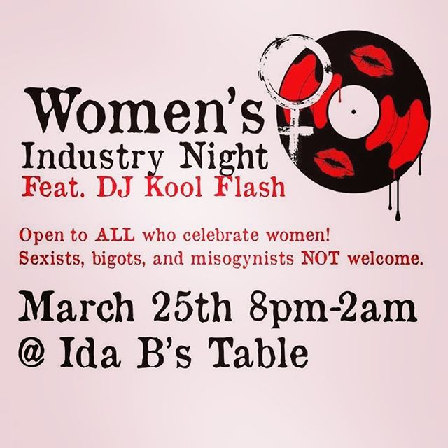 Join Us in #bmore ❤️ @idabstable Monday, March 25th at 8pm as We Celebrate #womenshistorymonth 😉#idabwells #women #love #dmc2018nycchamp🏆#blackgirlmagic #blackexcellence
