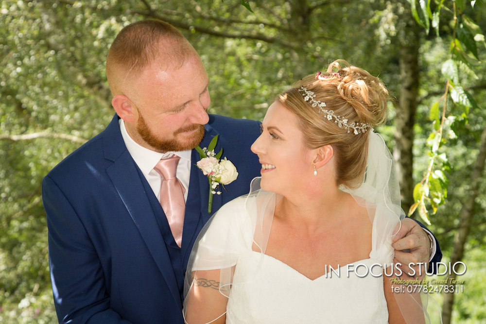 wedding at Shotley Cricket club