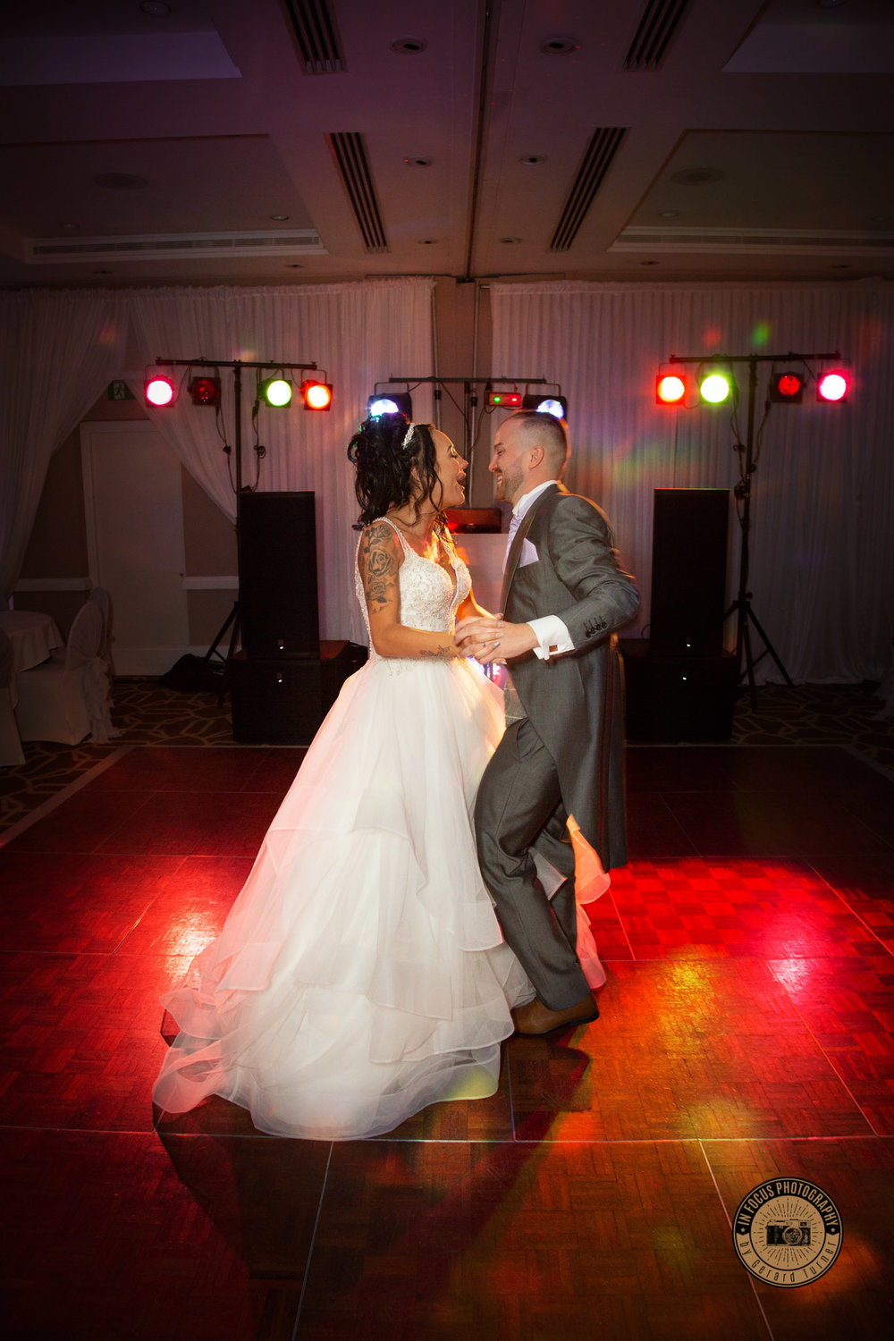 wedding photography at The Copthorne hotel in Newcastle