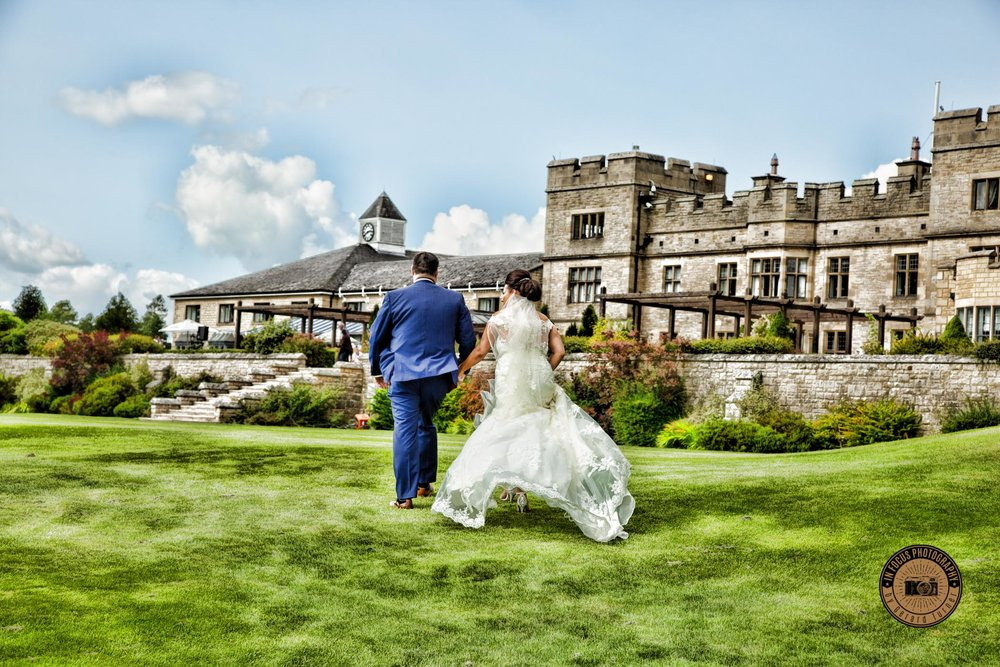 Thomas and Natalie wedding at slaley hall