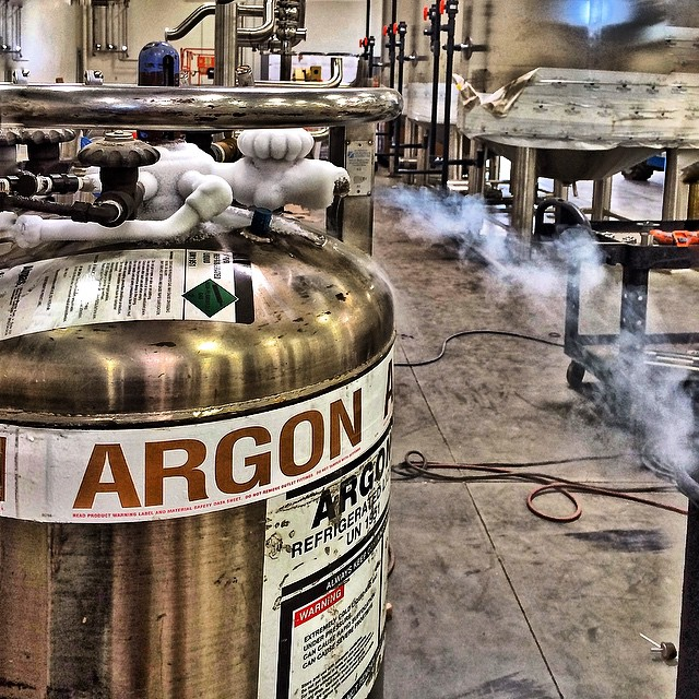 When you do some serious purging. ❄️ #purgeplugs #argon #frostedlikesnow #weldporn