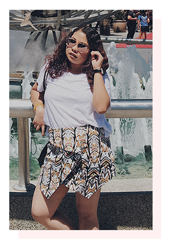 top - topshop / skort - jcrew / sunnies - cgc