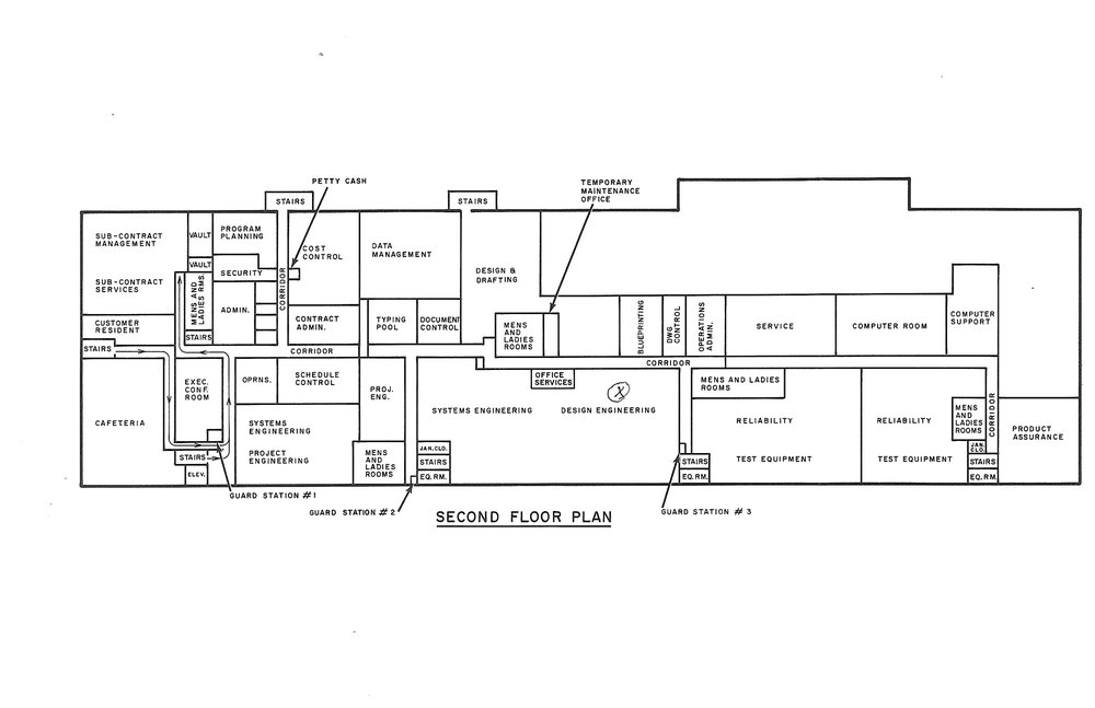 Perkin-Elmer 1968 Second Floor Plan jpeg.jpg
